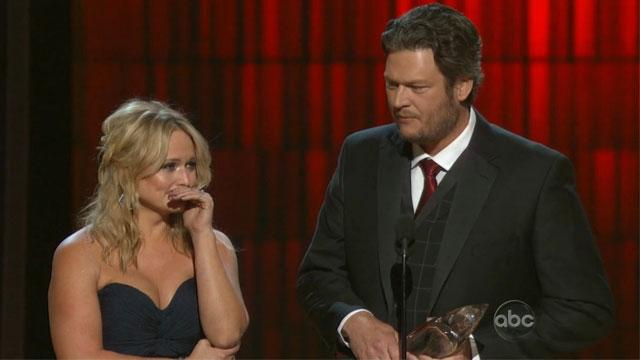 Blake Shelton's Touching CMA Acceptance Speech