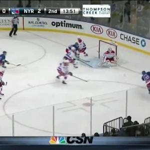 Braden Holtby Save on Chris Kreider (06:10/2nd)