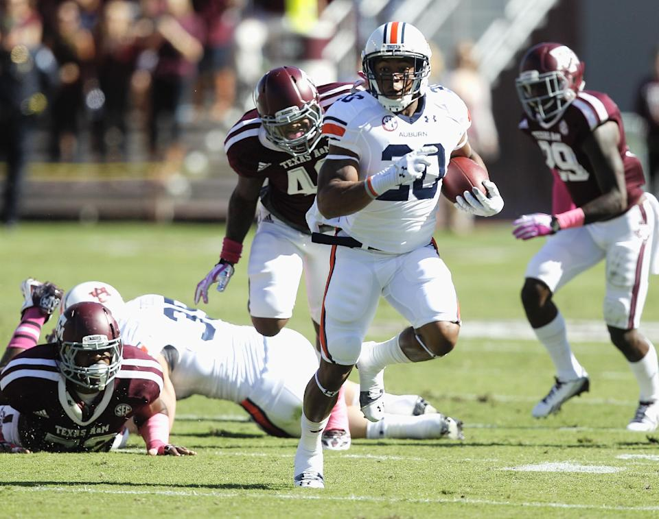 No. 24 Auburn beats No. 7 A&M 45-41