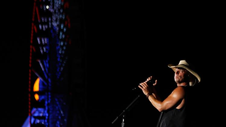 "Kenny Chesney Performs For The ""American Express Unstaged"" Livestream Music Series, In Partnership With VEVO And YouTube"