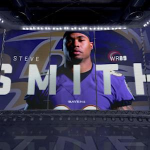 Is Baltimore Ravens wide receiver Steve Smith the team's No. 1 option?