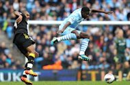 Manchester Citys Kolo Toure: Title race is 50-50 with Manchester United