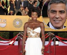 Viola Davis / George Clooney -- Getty Images