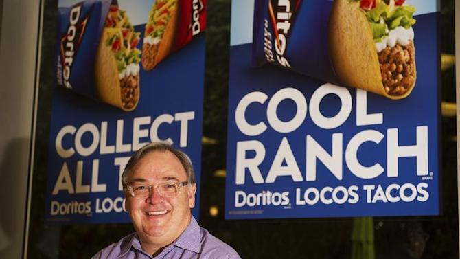 Taco Bell CEO, Greg Creed, poses for a photo at the Taco Bell Headquarters in Irvine