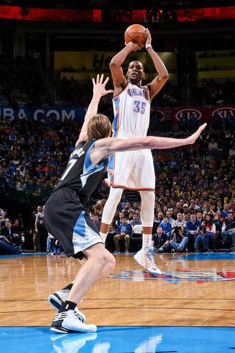 Thunder avoid another letdown, pound Wolves 106-84