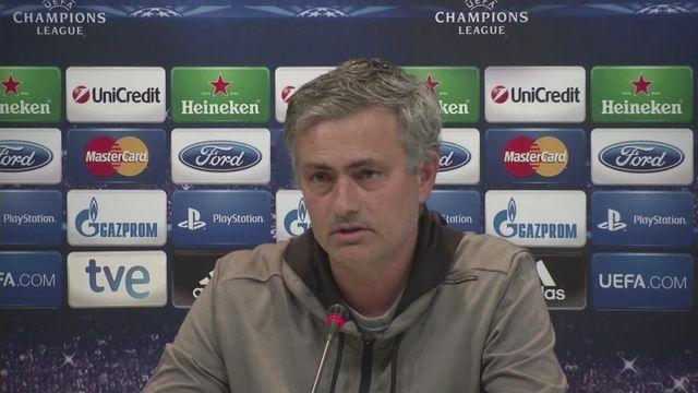 Mourinho calm ahead of second leg against Dortmund