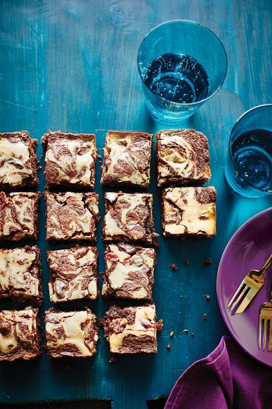 Cherry Cheesecake Brownies from Cooking Light's 'Incredibly Decadent Desserts'