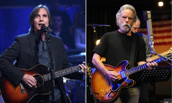 Jackson Browne, Bob Weir Top All-Star 'Jam-a-Thon' Benefit in L.A