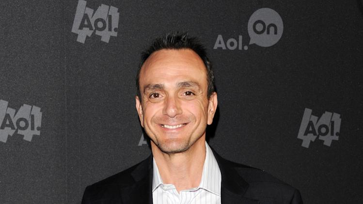 "Actor Hank Azaria attends AOL's web series ""NewFront"" at Moynihan Station on Tuesday April 30, 2013 in New York. (Photo by Evan Agostini/Invision/AP)"