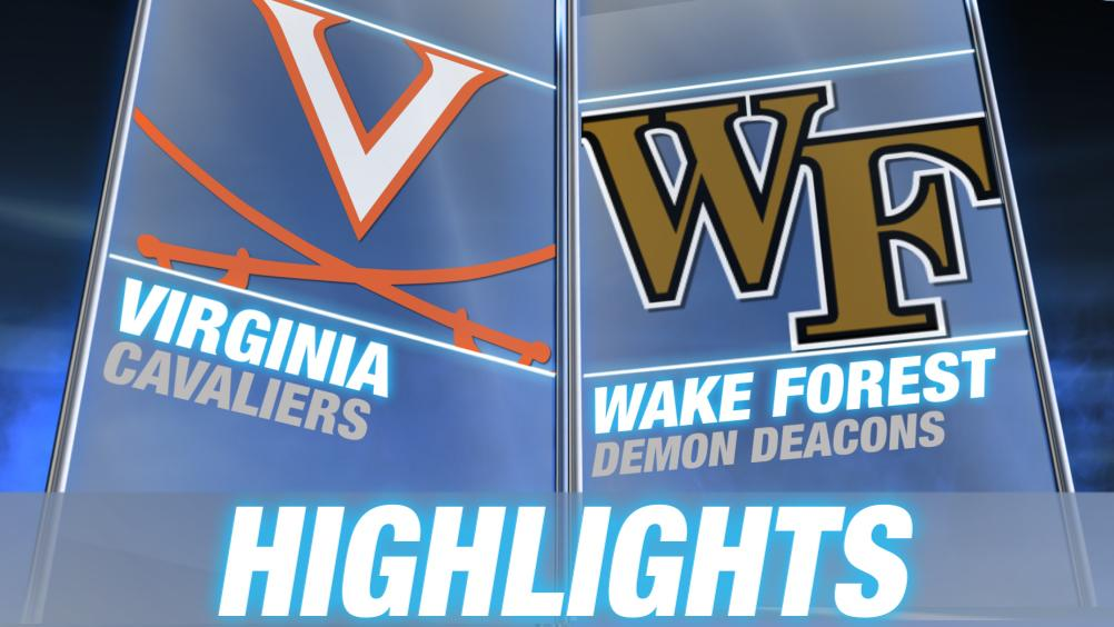 No. 2 Virginia routs Wake Forest, 70-34