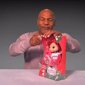 Mike Tyson Makes Unboxing Video on 'Kimmel'