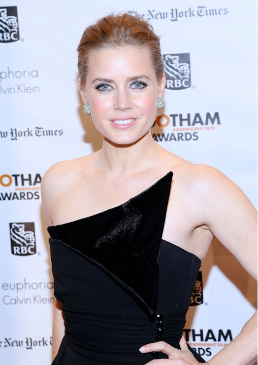 Amy Adams, at The Independent Film Project's 22nd Annual Gotham Independenent Film Awards at Cipriani New York City, USA - 26.11.12Mandatory Credit: Andres Otero/ WENN.com