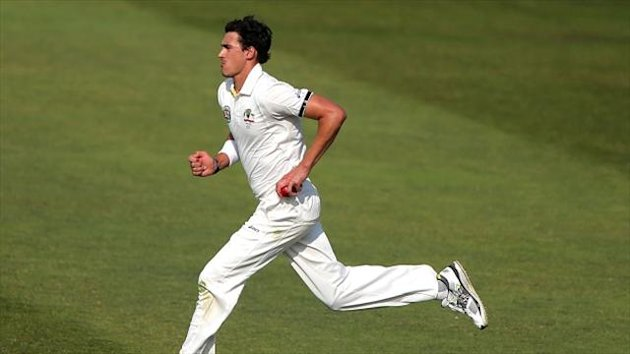 Mitchell Starc looks set to be recalled at Old Trafford