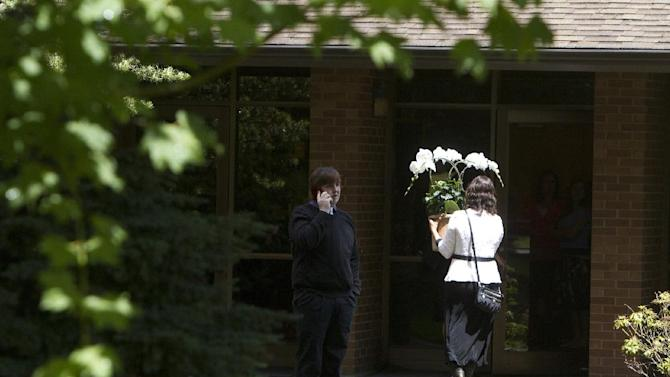 A funeral service for Jared Padgett was held Monday, June 16, 2014, at the Church of Jesus Christ of Latter-Day Saints in Gresham, Ore. The 15-year-old boy who fatally shot a fellow freshman at an Oregon high school last week has been laid to rest. About 200 friends and relatives of Padgett remembered him for many things Monday, but not the violent act that will forever define him. (AP Photo/The Oregonian, Faith Cathcart)