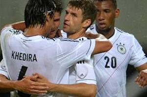 Germany 2-0 Israel: Gomez and Schurrle strike to round off Low's preparations for Euro 2012 with a win