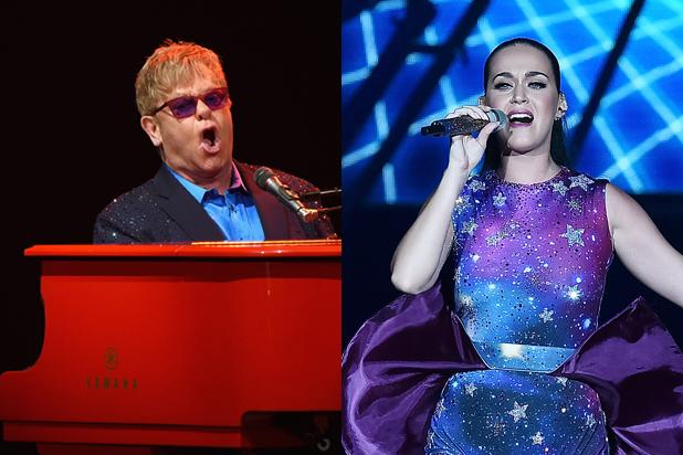Katy Perry, Elton John to Headline Hillary Clinton Fundraiser