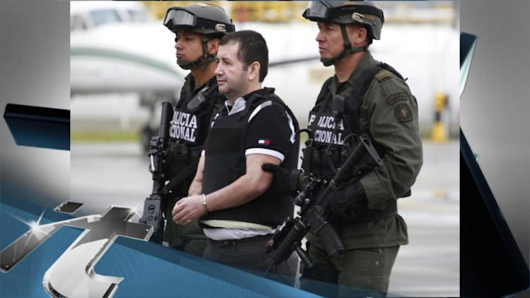 America Breaking News: Colombia Extradites Drug Lord Called 'The Madman' to US