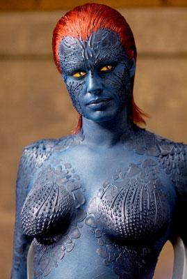 Rebecca Romijn as Mystique in 20th Century Fox's X-Men: The Last Stand