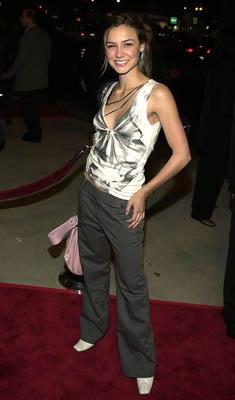 Samaire Armstrong at the Hollywood premiere of Artisan's National Lampoon's Van Wilder