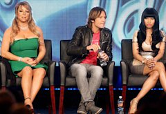 Mariah Carey, Keith Urban and Nicki Minaj  | Photo Credits: Frederick M. Brown/Getty Images