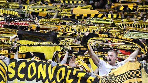 2012 Borussia Dortmund fans