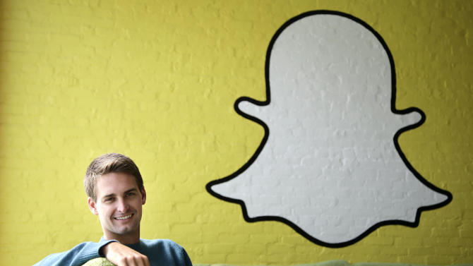 Snapchat CEO Evan Spiegel talks sexts and growth