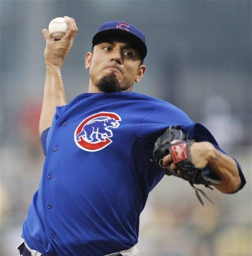 Garza DL bound; Samardzija to start Cubs' opener