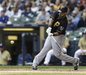 Alvarez helps Pirates beat Brewers 5-4