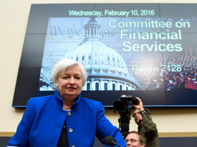 YELLEN TO CONGRESS: The Fed is not subsidizing big banks