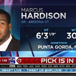 Cincinnati Bengals pick defensive end Marcus Hardison  No. 135 in 2015 NFL Draft