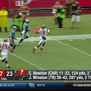 Panthers vs. Buccaneers recap