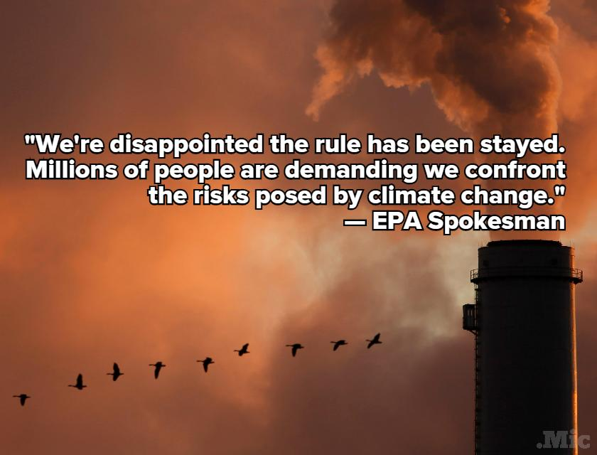 Surprise Supreme Court Ruling May Send Obama's Climate Plan Up in Smoke