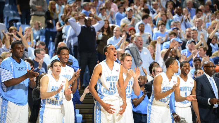 NCAA Basketball: North Carolina State at North Carolina