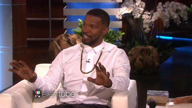 Jamie Foxx Talks About That National Anthem Performance