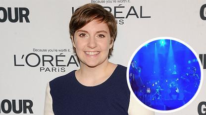Lena Dunham Fuels 'Fun' Romance Rumors