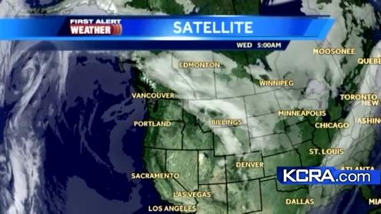 Wednesday Weather Update for Northern California 1.16