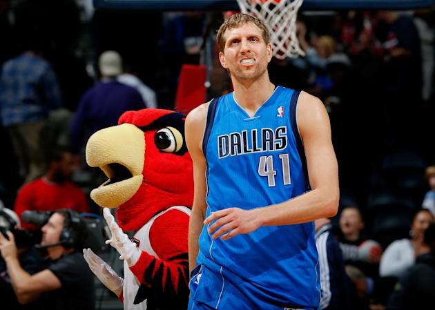 Dallas Mavericks v Atlanta Hawks