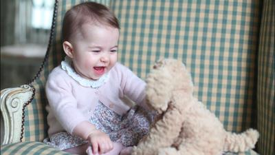 Kensington Palace Releases Photos of Princess Charlotte