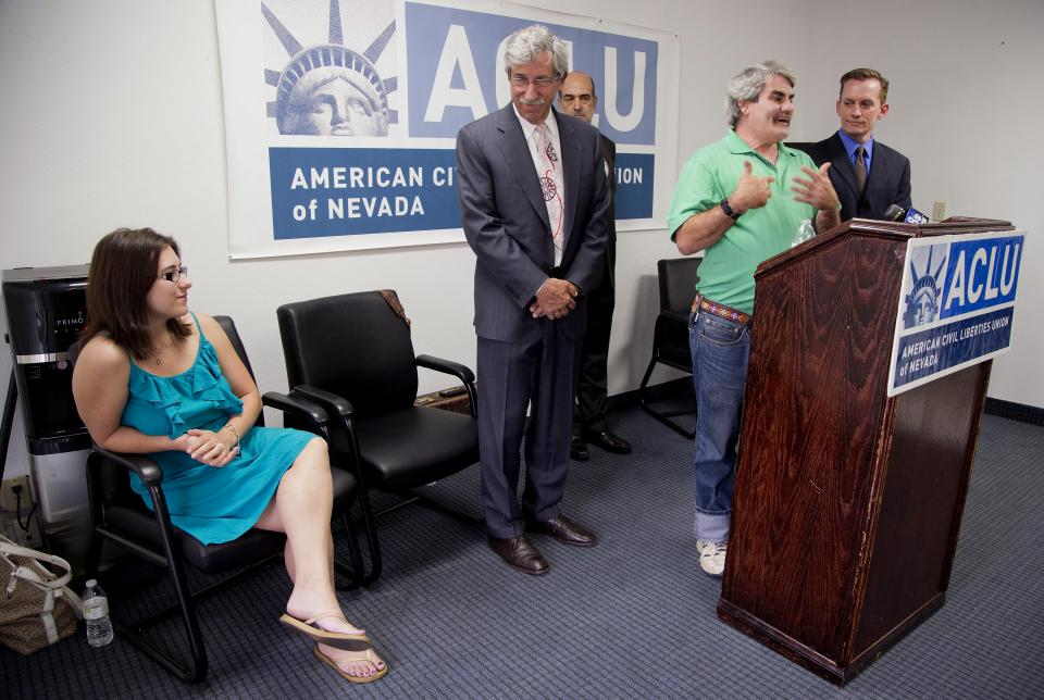 Nevada ACLU backing suit against 'patient dumping'