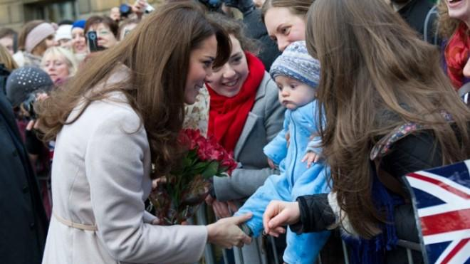 This time next year, the Duchess and the Prince may have their very own bundle of joy.