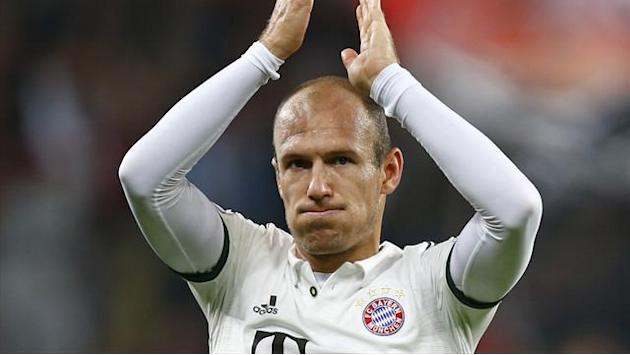 European Football - Robben scores, carried off in Bayern cup win