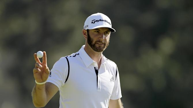 Johnson in lead at Riviera; Walker right behind