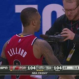 Lillard Saves The Day