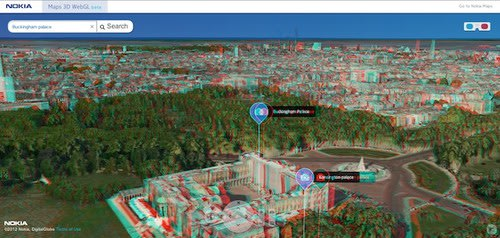Nokia rocks out 3D world map