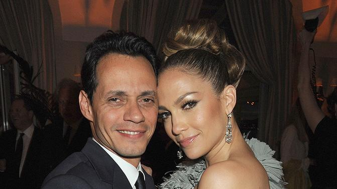 2010 Vanity Fair Party Honoring Martin Scorsese Cannes Film Festival Marc Anthony Jennifer Lopez