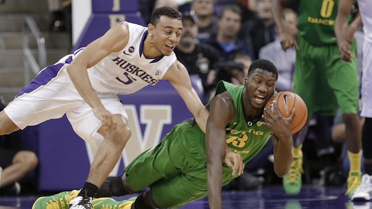 C.J. Wilcox leads Washington over Oregon 80-76