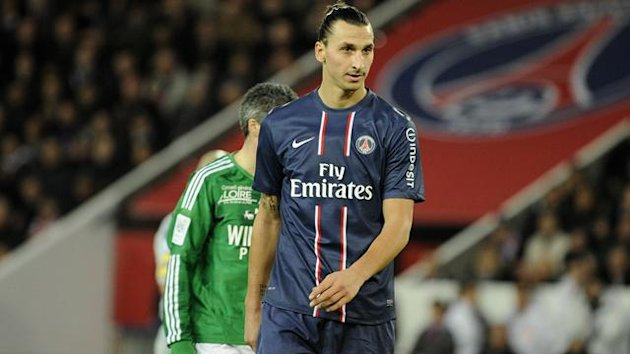 FOOTBALL 2012 PSG-Saint-Etienne (Ibrahimovic)