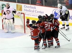 Devils slip past Penguins for 3-2 victory