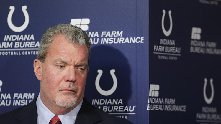 Indianapolis Colts owner Irsay arrested for DWI