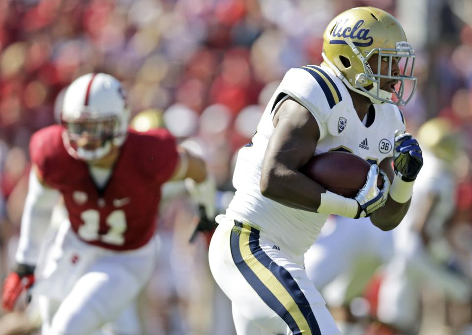 No. 13 Stanford smothers Hundley, No. 9 UCLA 24-10